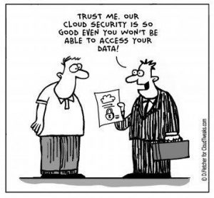 cloud security cartoon